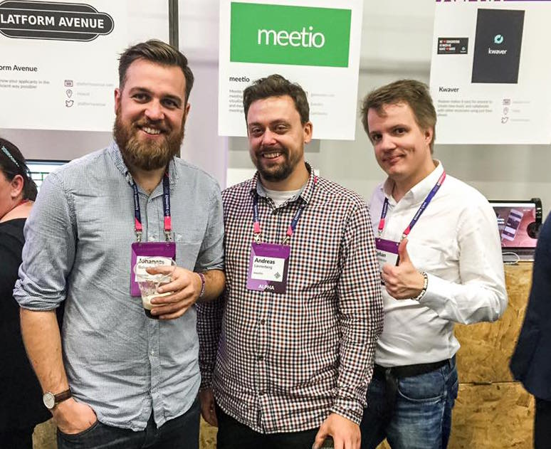 Meetio at Web Summit in Dublin